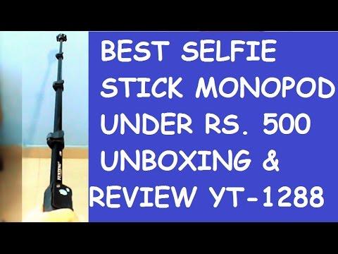 best selfie stick monopod under rs 500 unboxing review hindi youtube. Black Bedroom Furniture Sets. Home Design Ideas