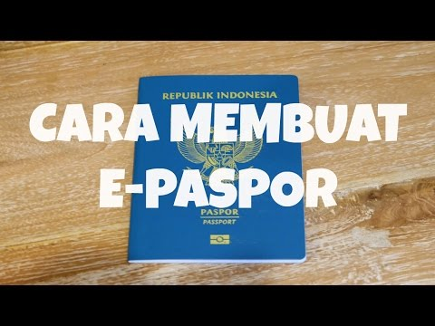 CARA MEMBUAT E-PASPOR (2017) | MattHera