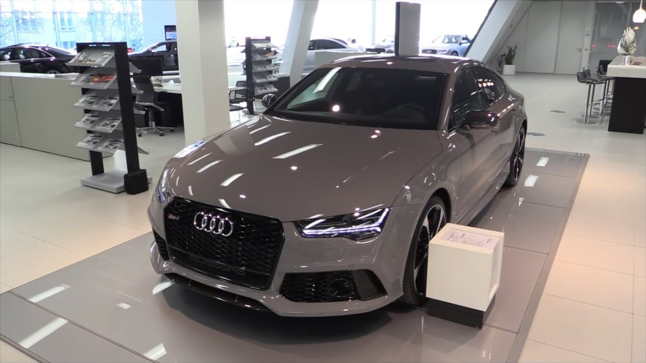 Audi Rs7 2016 In Depth Review Interior Exterior Youtube