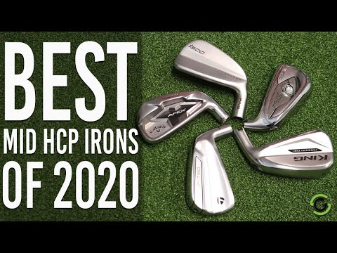 Best Golf Irons For Mid Handicapper 2021 | Christmas Day 2020