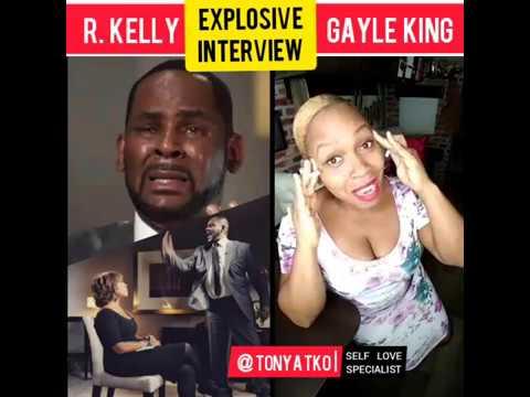 "R. Kelly Gayle King EXPLOSIVE INTERVIEW on CBS ""They Tryna KILL Me!"" | @TonyaTko Reaction"