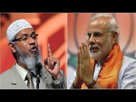 dr zakir naik vs modi, translated in bangla
