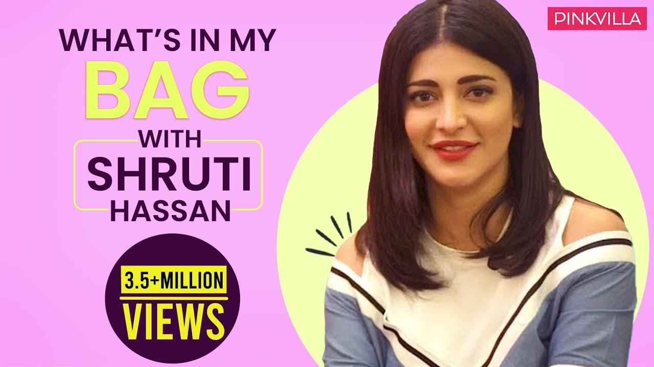 What's in my bag with Shruti Haasan | S02E08 | Fashion | Pinkvilla