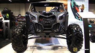 2017 Can Am Maverick X3 X ds Turbo R 900 Side by Side ATV - Walkaround - 2016 AIMExpo Orlando