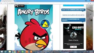 How To Download Angry Birds : Apne Pc Me Angry Birds Game Download Kare