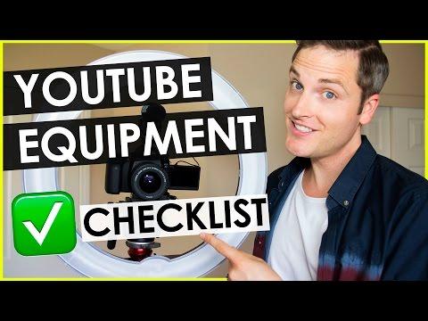 YouTube Equipment List for Making Videos