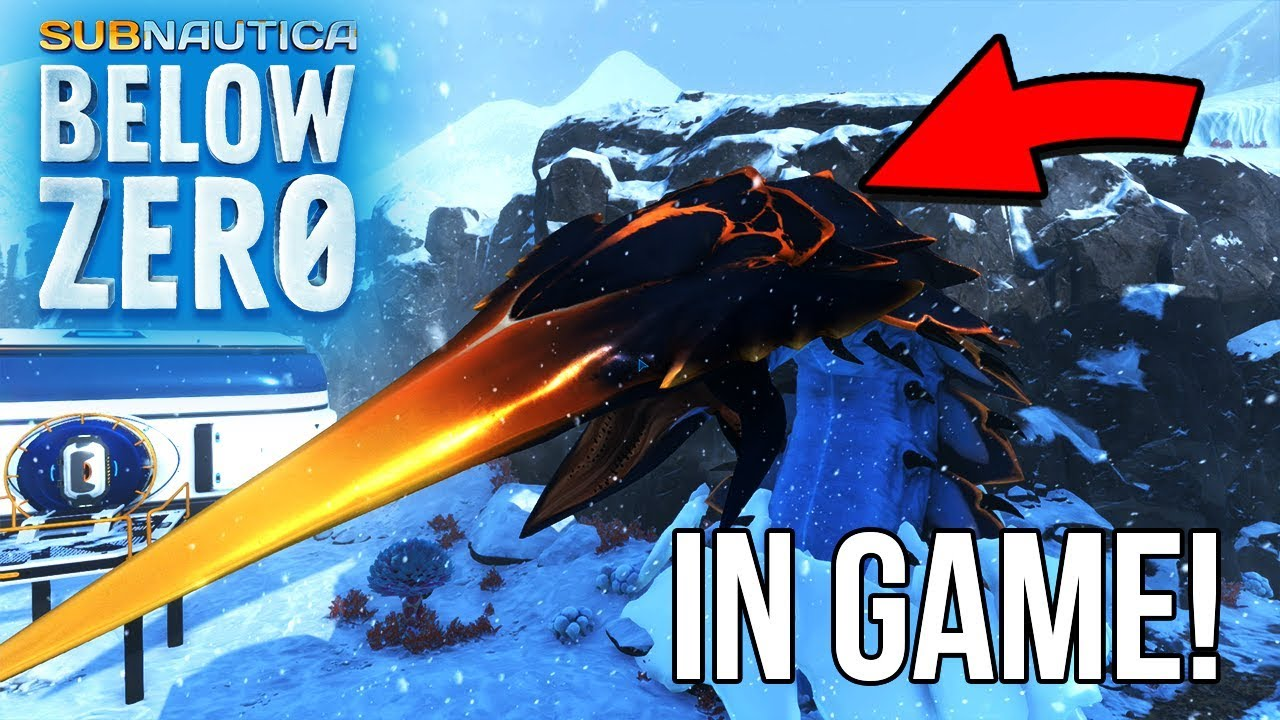 Subnautica: Below Zero – How-to Spawn the Ice Worm – Pro