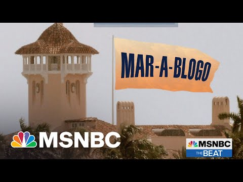 Trump Losing Blog Wars After Losing Election | MSNBC's The Beat