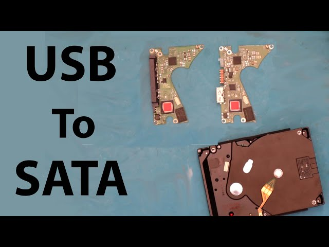 Converting 5TB WD USB External Hard Drive to Sata for Data Recovery