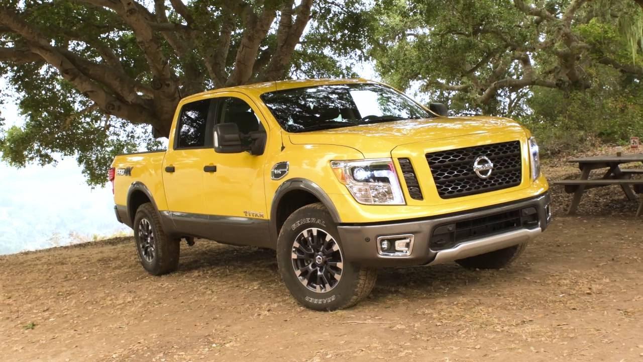 2017 Nissan An Pro 4x Truck Review Autonation