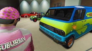 I Made a Movie Car Garage - GTA Online DLC