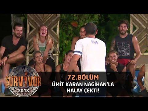 Ümit Karan puanı aldı, Nagihan'la halay çekti! | 72.Bölüm | Survivor 2018