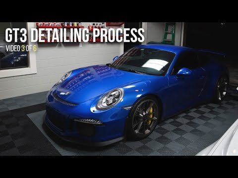GT3 Detailing Process Video 3 of 6