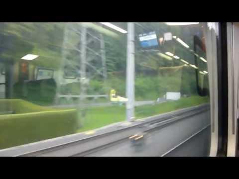 ÖBB: Railjet 363 Travelling through Liechtenstein [in HD]