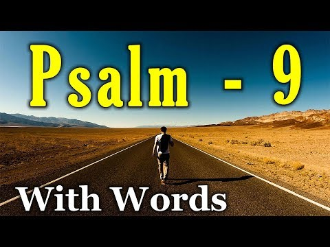 psalm-9---i-will-give-thanks-to-the-lord-(with-words---kjv)