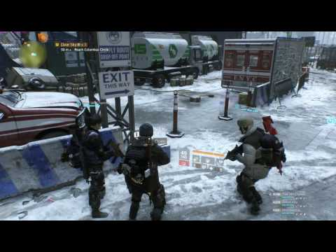 The Division [PC[ Clear Sky Incursion Challende Mode 13 minutes(hut method)