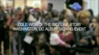 J. Cole Cole World Album Signing in Washington, DC