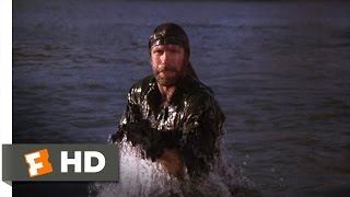 Missing in Action (9/10) Movie CLIP - Watery Vengeance (1984) HD