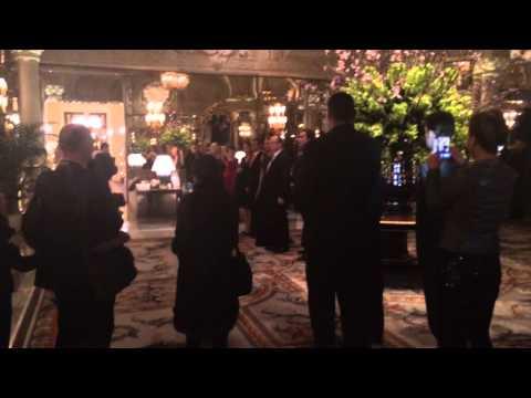 Monaco. Монако. Принц Альберт и Принцесса Шарлен. Отель де Пари.