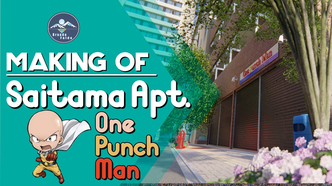 One Punch Man Saitama Apartment Timelapse