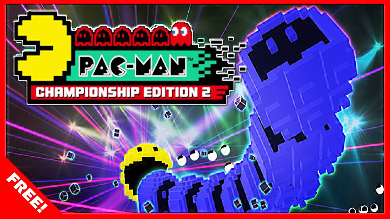 The Pac-Man Championship Edition 2 FREE announcement poster
