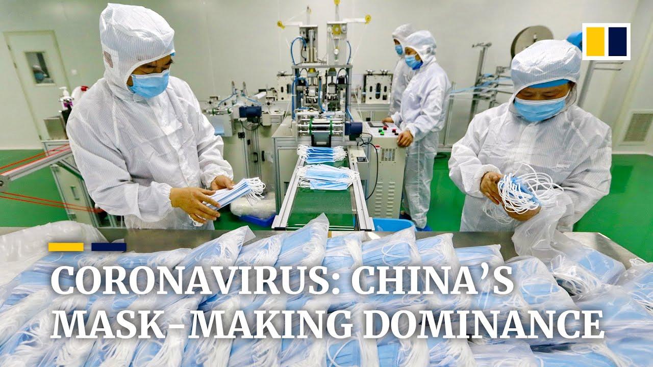 Face mask shortage amid coronavirus pandemic reminds world of China's manufacturing dominance