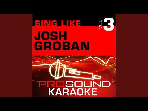 The Prayer (Karaoke Instrumental Track) (In the Style of Josh Groban)