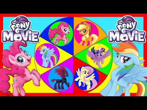 My Little Pony The Movie MLP Game - Equestria Girls, Pinkie Pie, Twilight Sparkle, LOL Surprise