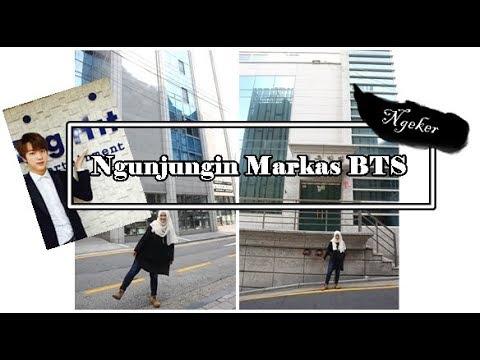 Jalan-Jalan ke Gedung Big Hit markas BTS [Ngeker]
