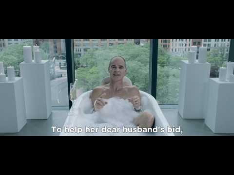 Doug Stamper discussing House of Cards while taking a bubble bath