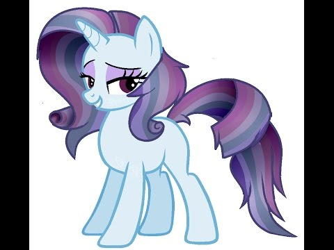 mlp how to draw rarity