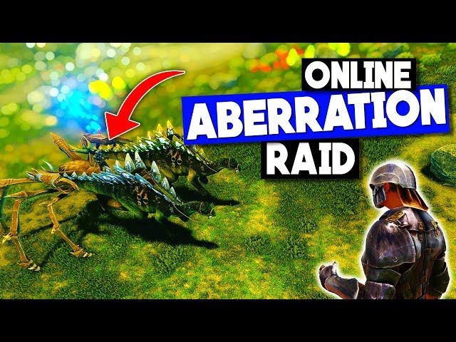 First ONLINE Aberration RAID + COUNTER RAIDERS!  - ARK: Survival Evolved DarkArk PvP Ep 5