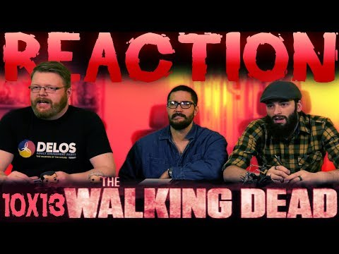 """The Walking Dead 10x13 REACTION!! """"What We Become"""""""