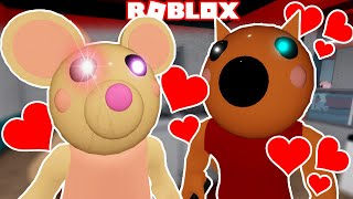 PIGGY - MOUSY AND FOXY FALL IN LOVE (Roblox Piggy)