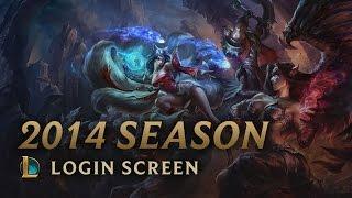 League of Legends Seąson 2014 | Login Screen - League of Legends