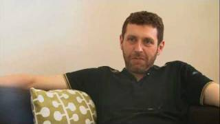 Dave Gorman talks darts, playing footie with Calzaghe and dying on stage!