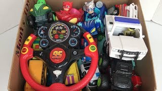 Box of Toys | Cars 3 Smart Wheel | Cars | PJ Mask | Roblox Police Car 🚔 | Box Full of Cars 🚙