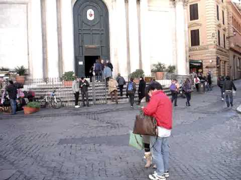 Germany-Rome-Egypt-Turkey: Trevi Fountain-Vincenzo e Anastasio Rome #2 120509.MPG