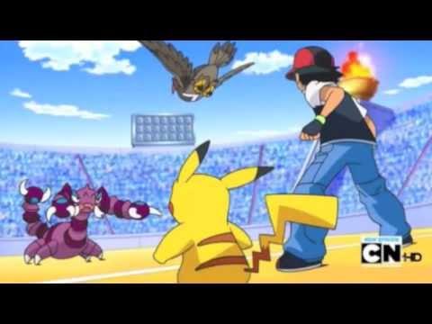 Ash vs Paul (final battle) AMV