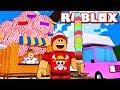 FIZ o MAIOR SORVETE e GANHEI + de $1.000.000 no ROBLOX → Ice Cream Simulator 🎮