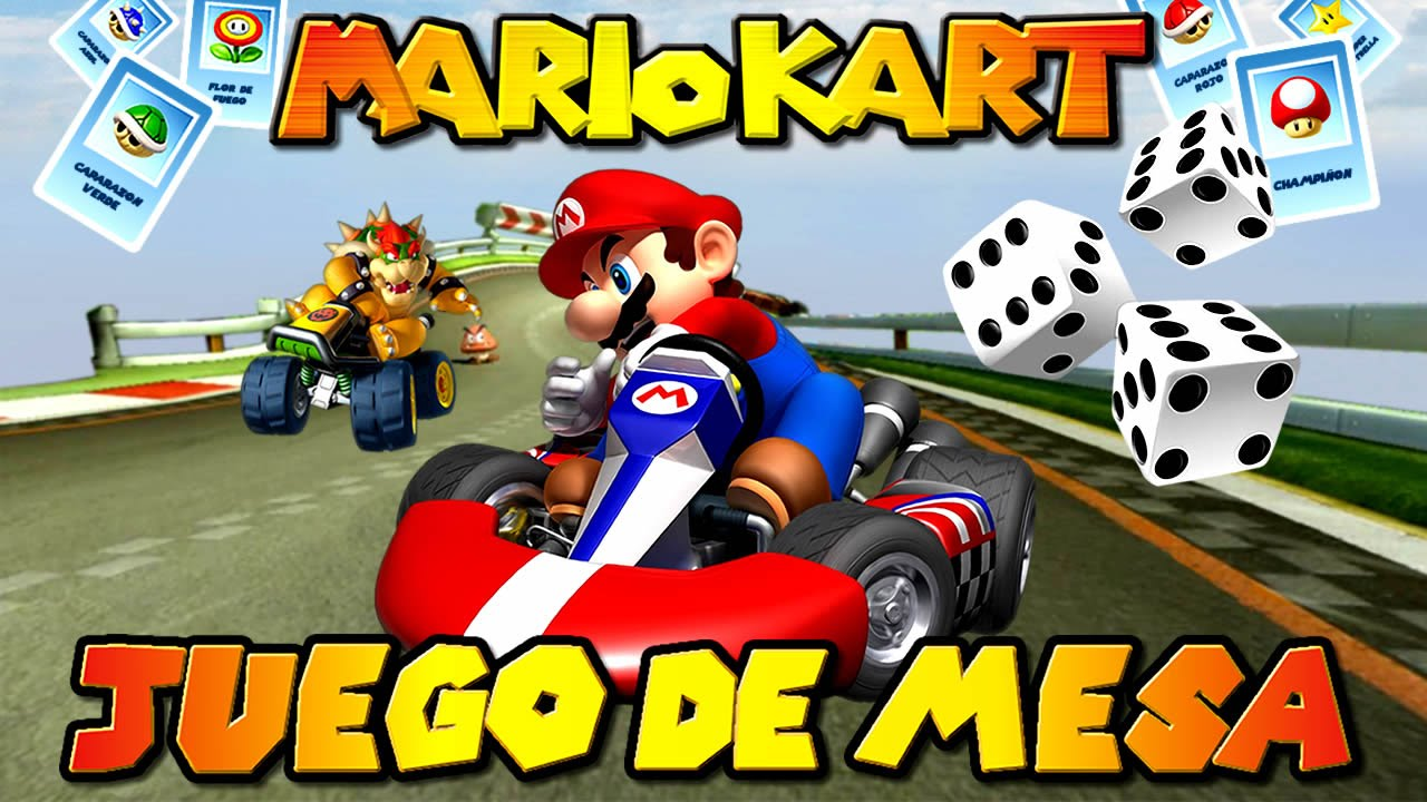 juego de mesa de mario kart c mo se hace lt u6uv55ea. Black Bedroom Furniture Sets. Home Design Ideas