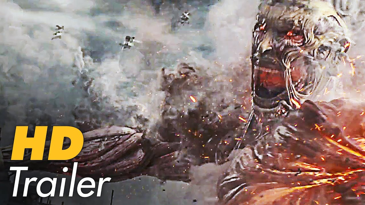 ATTACK ON TITAN Movie Trailer 3 Extended 2015 Live Action Film