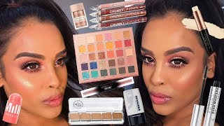 FULL FACE OF NEW MAKEUP 2019 CHIT CHAT  NikkisSecretx