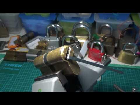 Взлом отмычками AZBE HS6  133 AZBE HS6 DIMPLE GANZUADO SPP & GUTTED SUB ENG ()