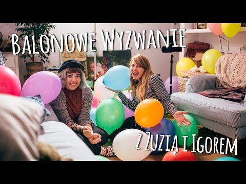 Balonowe wyzwanie z Zuzią Borucką i Wielmożnym Igorem ★ BALLOON CHALLENGE