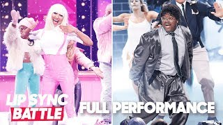 "Lil Rel Howery's  ""Ghostbusters"" vs. Naya Rivera's ""Barbie Girl"" 
