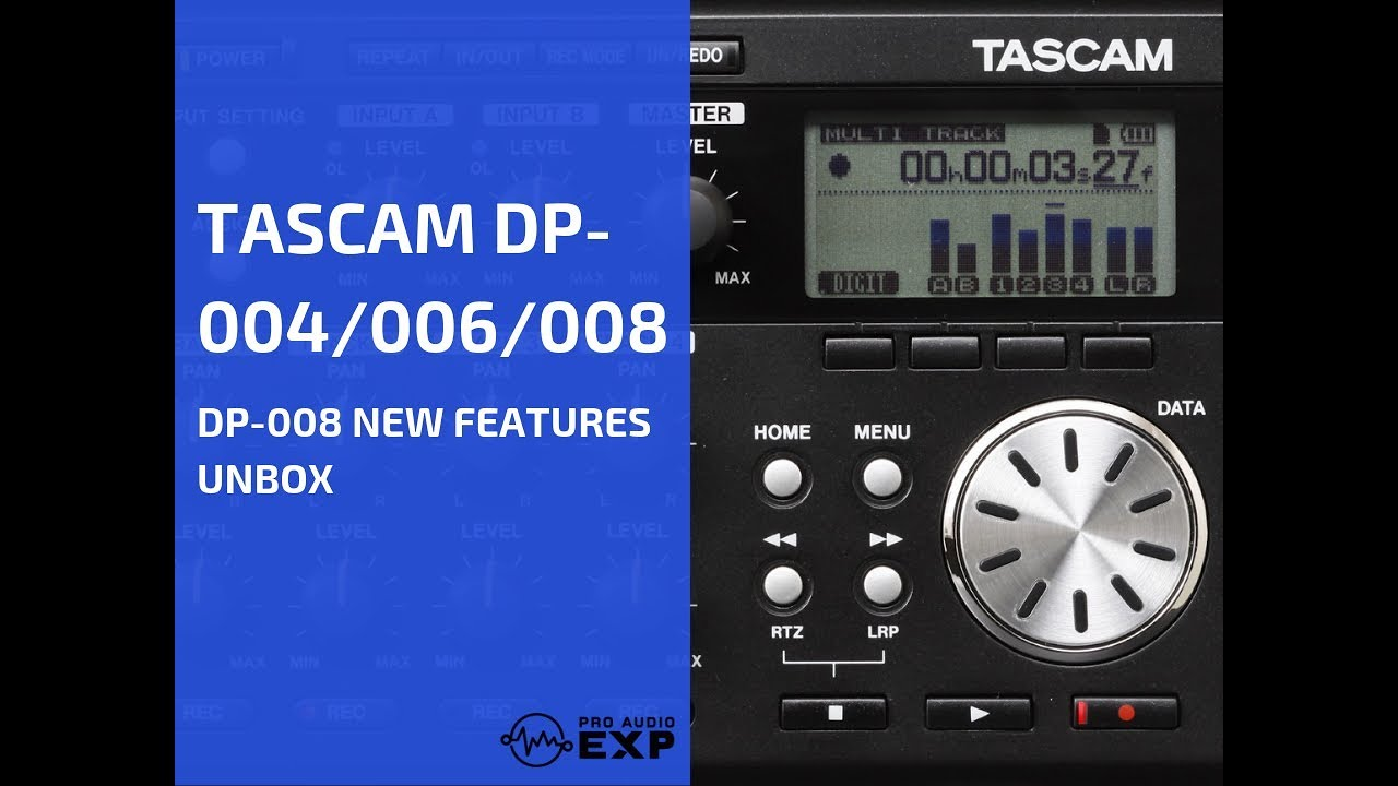 DP-008EX | FEATURES | TASCAM - United States