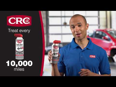 How to Clean Intake Valves On Audi Engines with CRC GDI IVD® Intake Valve Cleaner