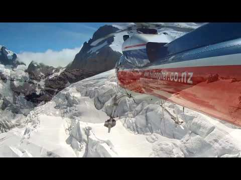 Mount Cook - The Helicopter Line - New Zealand.