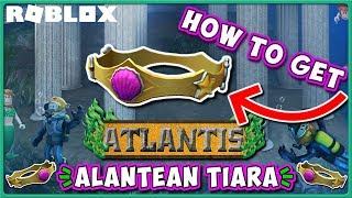Roblox Atlantis Event | How to Get Atlantean Tiara Hat in Disaster Island! | JixxyJax